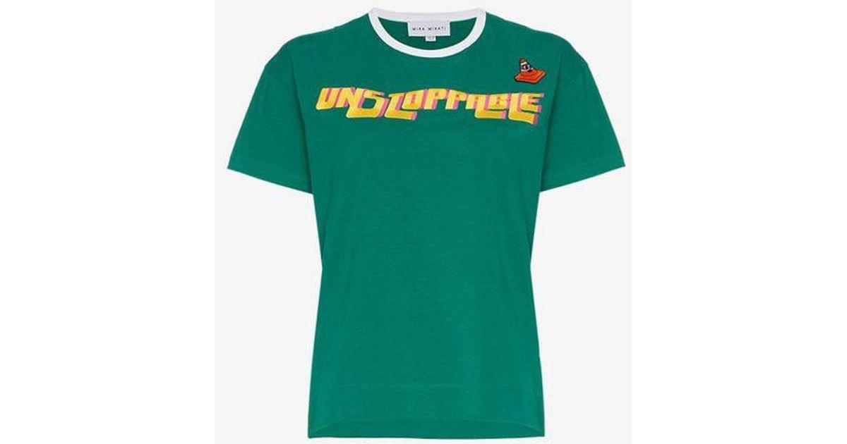 1172789f72 mira-mikati-green-Unstoppable-Embroidered-Cotton-T-Shirt.jpeg