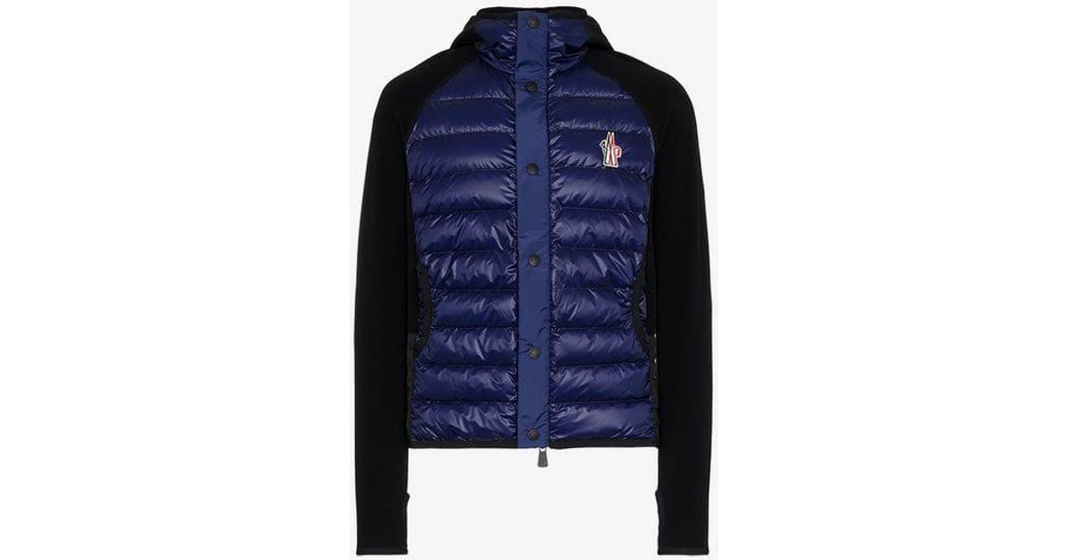 Nylon In Jacket Hooded Down Moncler Black Quilted Feather Grenoble x0BwqwIRO4