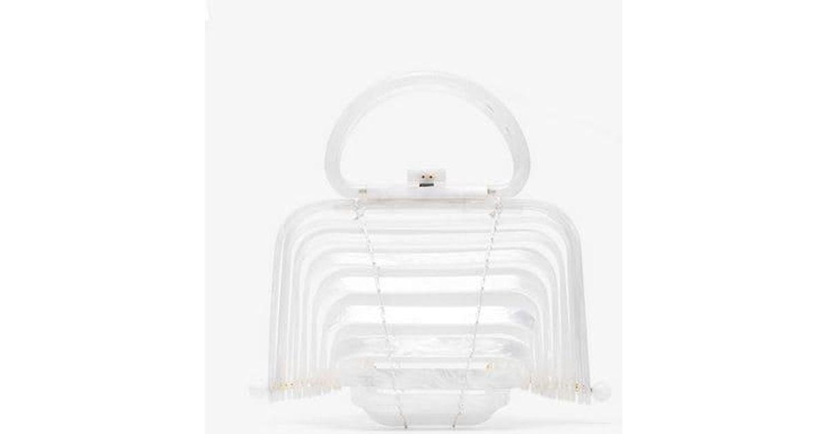 In Lyst Acrylic Bag Cult White Lilleth Mini Gaia 6na0A6F