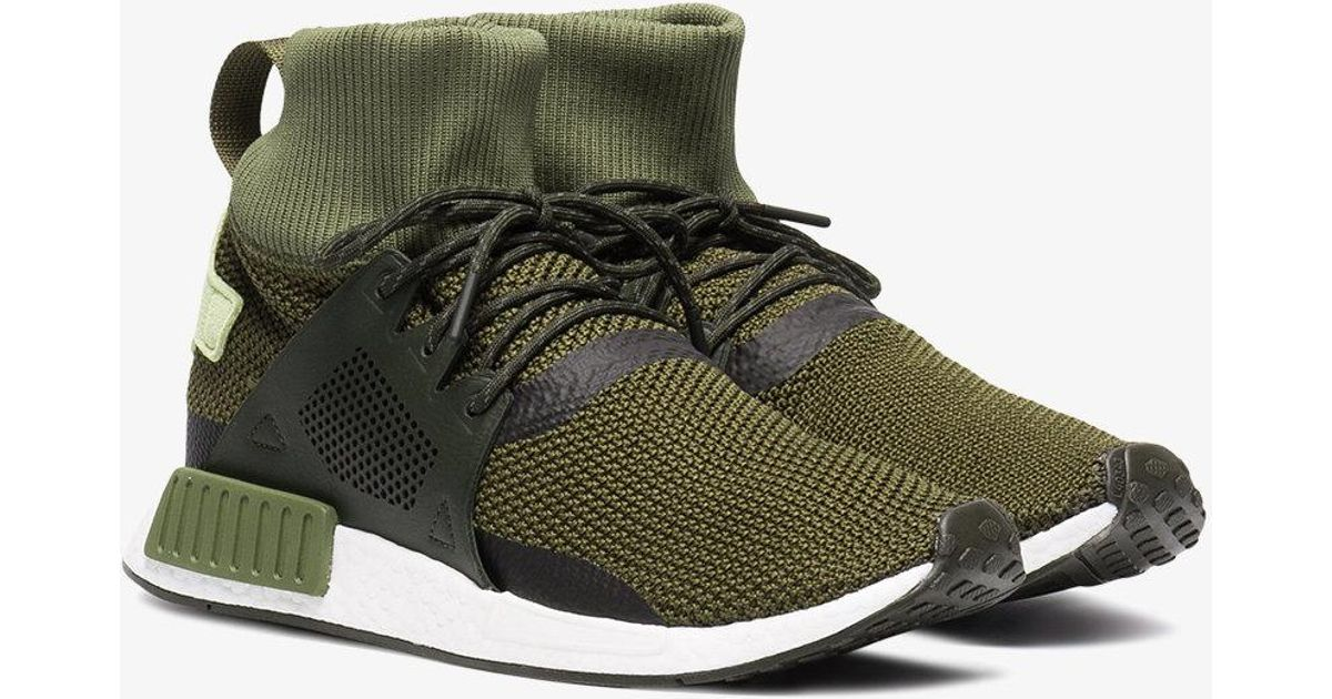 0c6ed40966a17 Lyst - adidas Green Nmd Xr1 Winter Sneakers in Green for Men