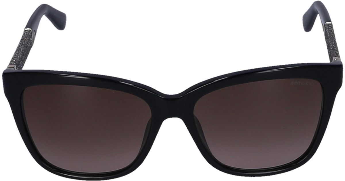 28c23af3322 Jimmy Choo Women Sunglasses Avaiator Soreai Acetate Tortoise Brown Pink in  Blue - Lyst
