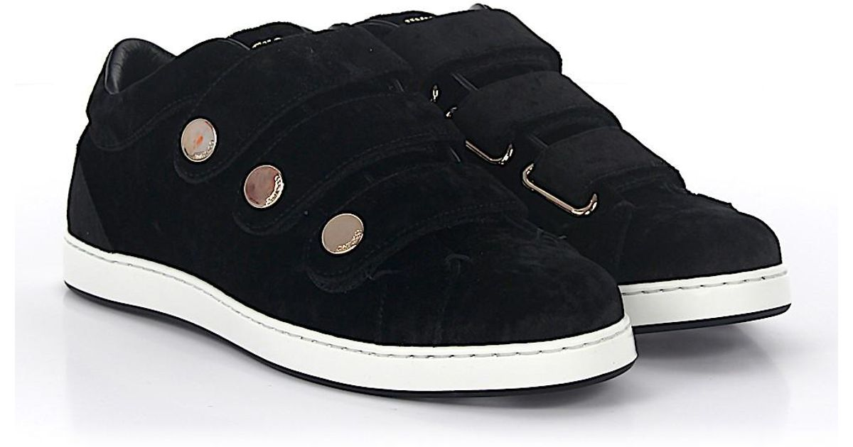 Sneaker High Bastian black Jimmy Choo London