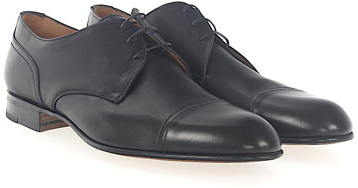 Derby 042639 calfskin black Moreschi Clearance New Cheap Sale Sast Best Authentic Outlet Wiki Classic OVRwK