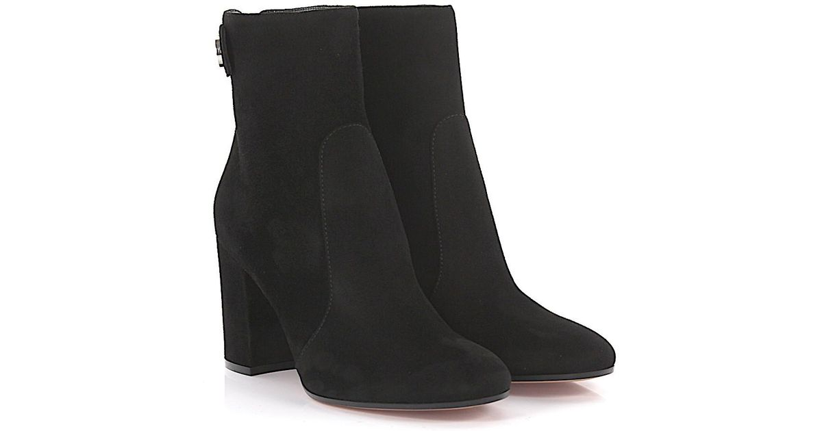 Gianvito Rossi Ankle boots Lindon Bootie suede