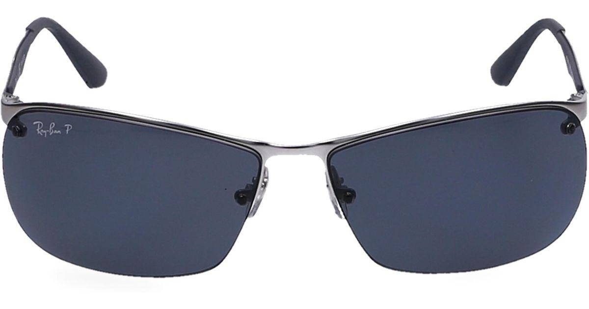 57fc317548 Lyst - Ray-Ban Sunglasses Wayfarer 3550 Acetate Grey in Gray for Men