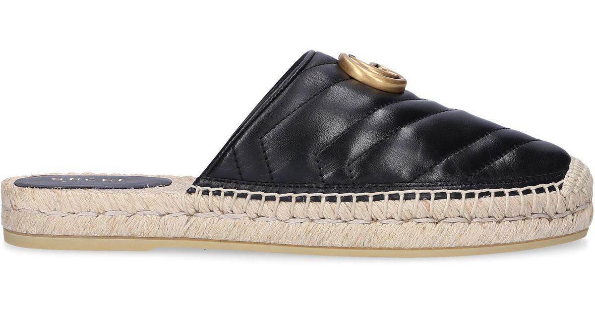 c3fbf1fc2 Gucci Slip On Shoes Bko00 in Black - Lyst