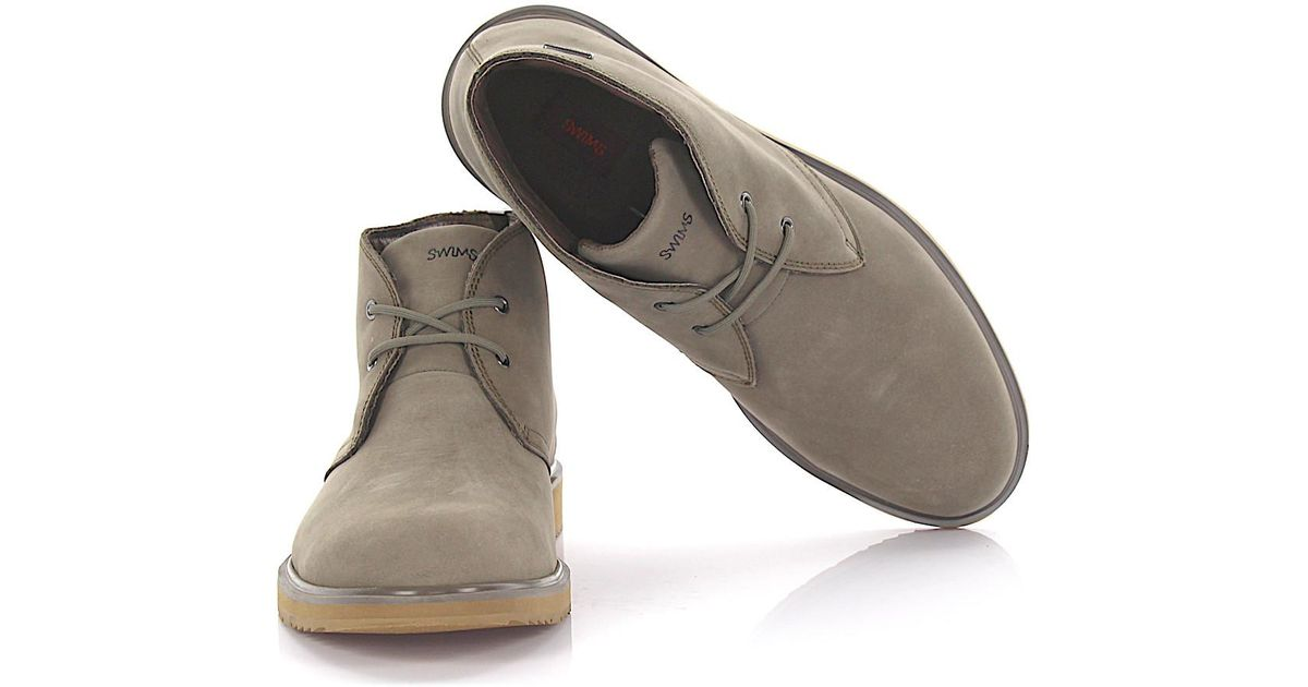 Swims Boots BARRY CHUKKA CLASSIC nubuck leather d8Sojj