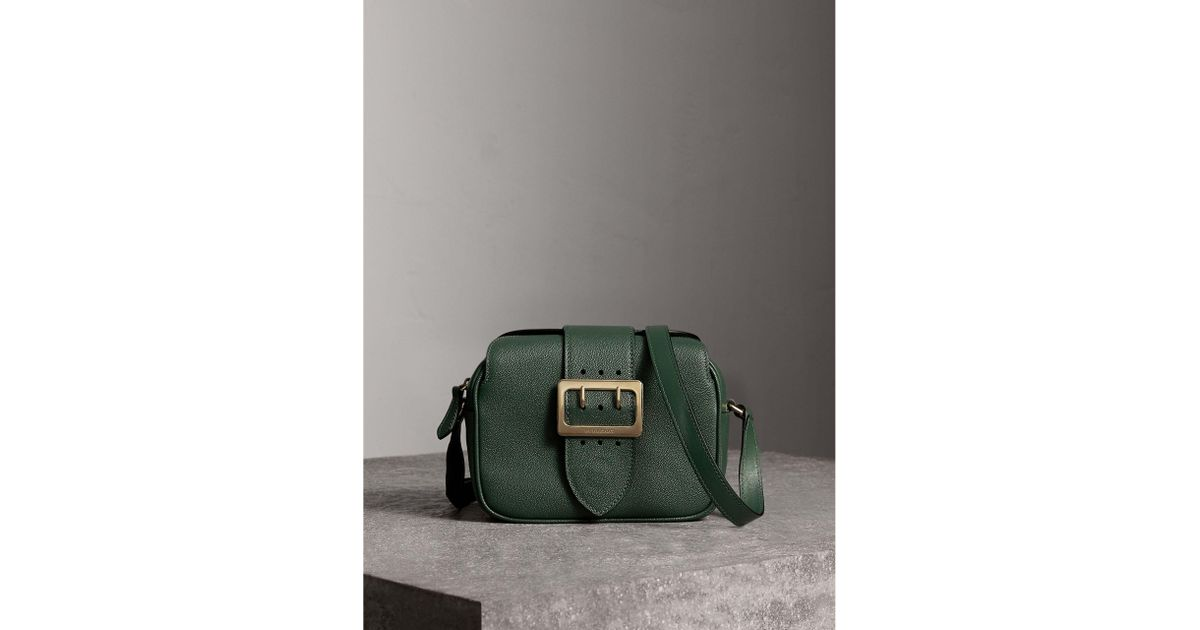ea2f2c377011 Burberry The Small Buckle Crossbody Bag In Leather in Green - Lyst