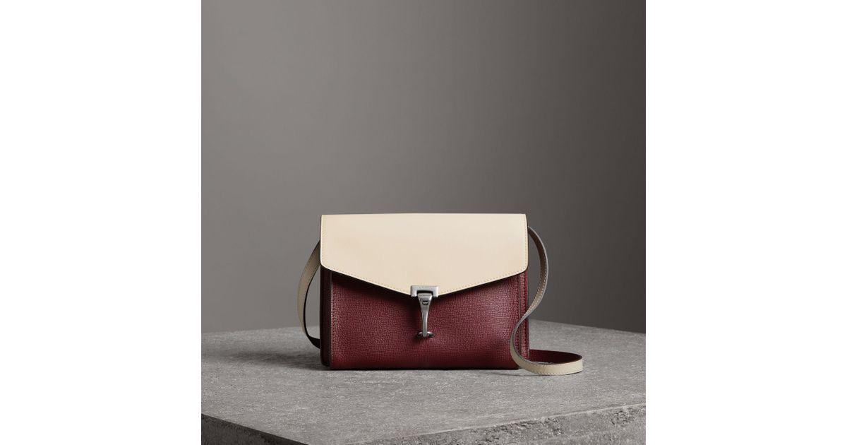 Burberry Two-tone Leather Crossbody Bag CHCkrfC