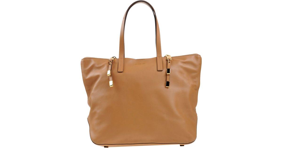 32907850a009de Lyst - Michael Kors Handbag in Natural