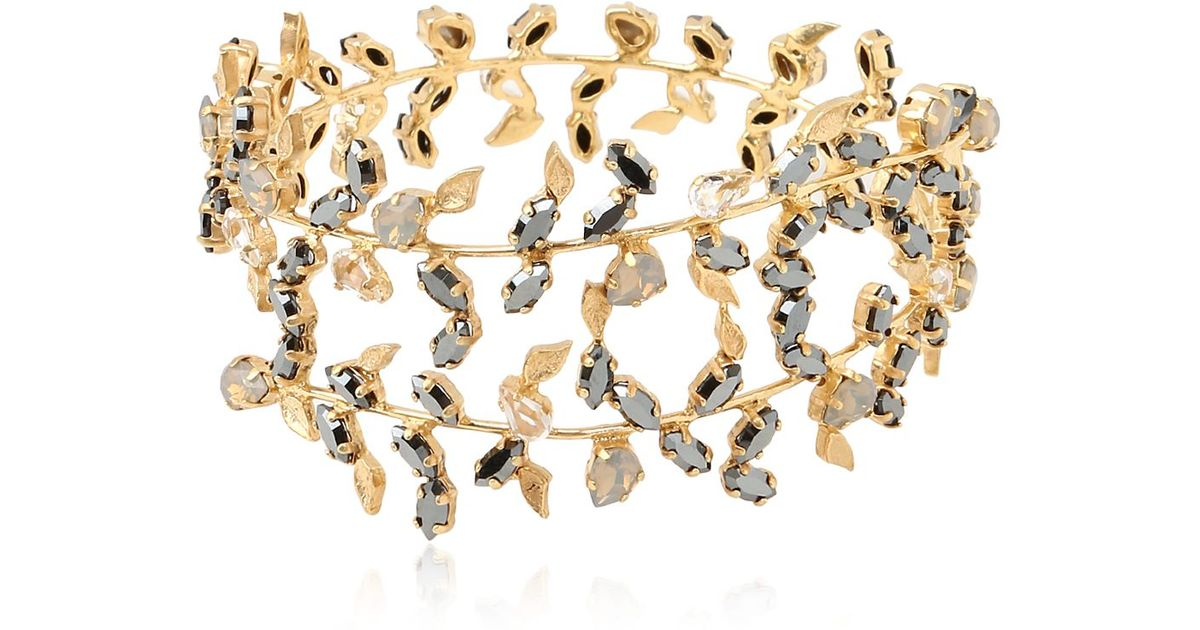 Lyst Joanna Laura Constantine Flutter Collection Forearm Bracelet In Metallic