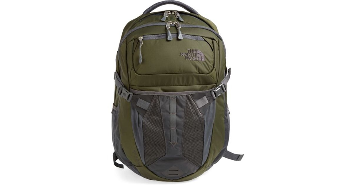 c5120d015 The North Face - Gray 'recon' Backpack for Men - Lyst