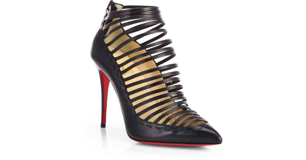 Christian Louboutin Lace Multistrap Sandals websites sale online Hri9AWgcac