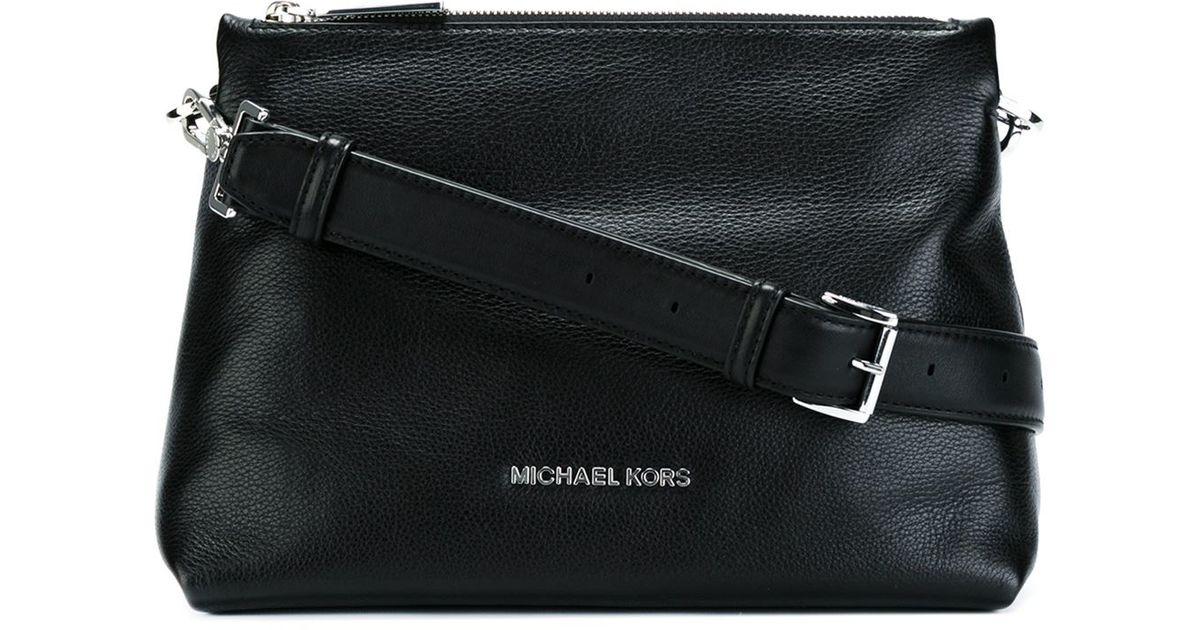6f97e652e713 ... netherlands lyst michael michael kors medium jane cross body bag in  black 67d48 2c5f6