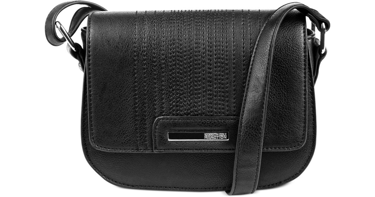 db951eddc54d Lyst - Kenneth Cole Reaction Never Let Go Mini Crossbody in Black