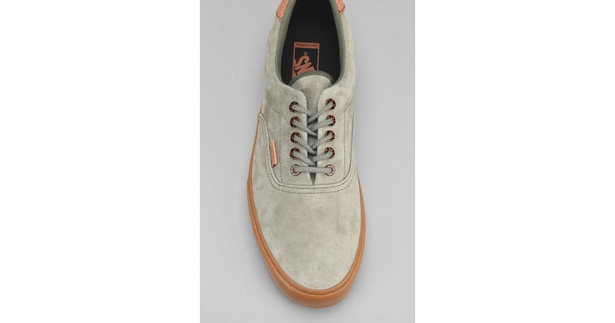 b85b0876e334e9 Lyst - Vans Era 59 California Suede Gum-Sole Men S Sneaker in Green for Men