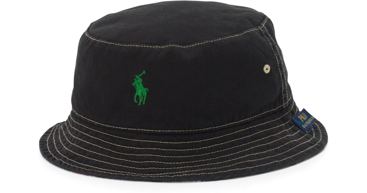 b935403de764 Lyst - Polo Ralph Lauren Flamingo-print Reversible Bucket Hat for Men