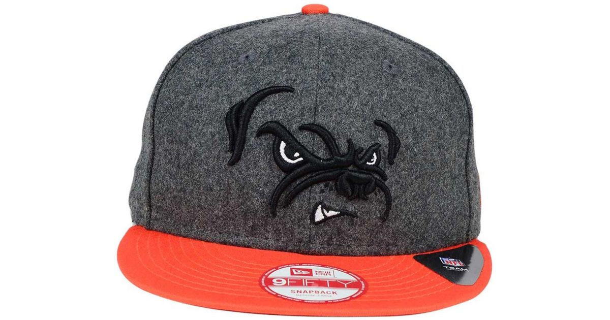 low priced 45a35 756f1 Lyst - KTZ Cleveland Browns Shader Melt 9fifty Snapback Cap in Gray for Men
