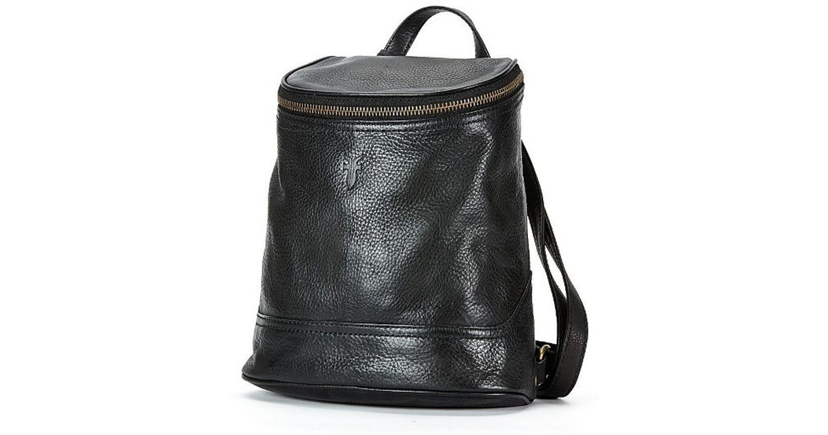 9642f4b87935 Lyst - Frye Small Campus Backpack In Black As Seen On Vanessa Hudgens