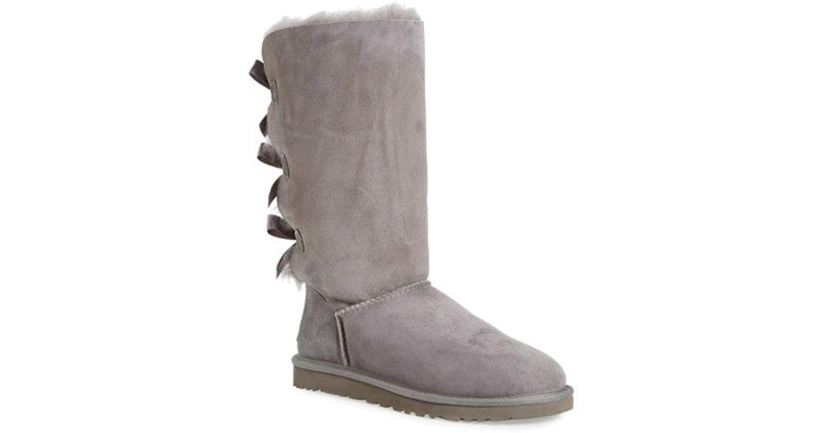 ugg tall gray boot