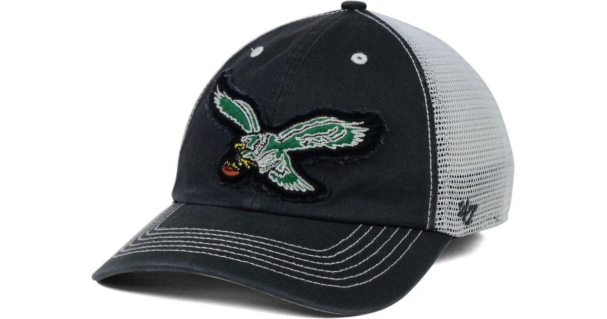 5a3f80b23b4 ... official lyst 47 brand philadelphia eagles taylor closer cap in white  for men beb36 4e273