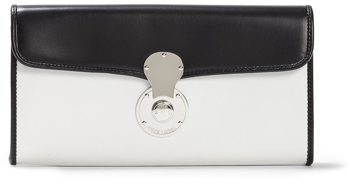 5174d3eaeca Pink Pony Ricky Continental Wallet in White - Lyst