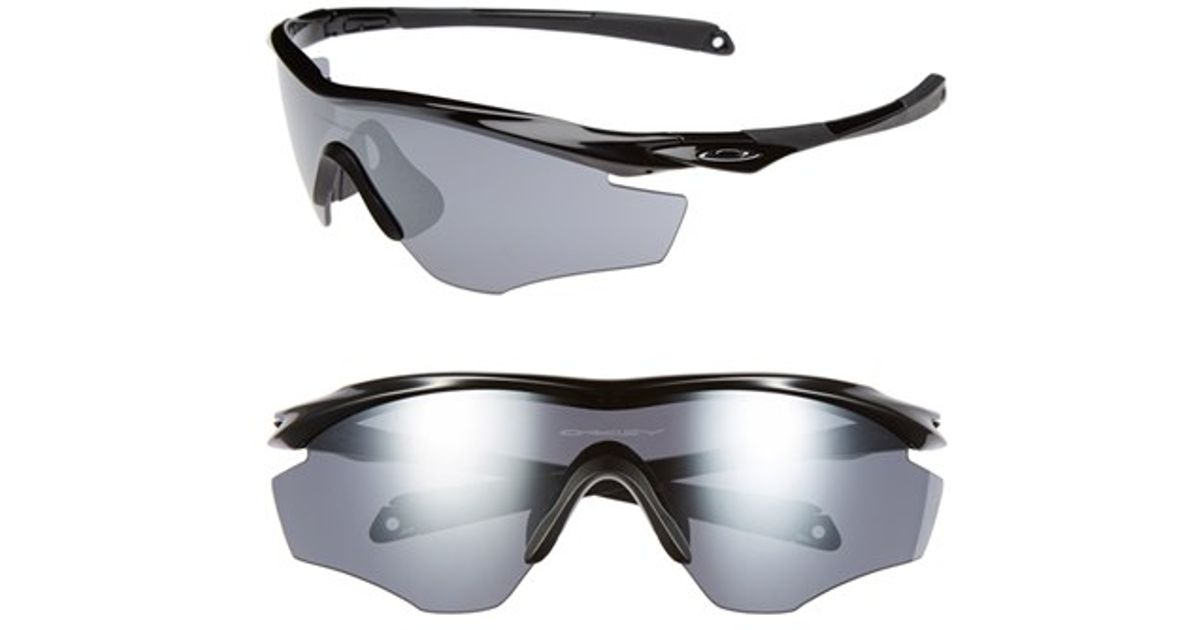 Lyst - Oakley \'m2 Frame\' 175mm Shield Sunglasses - Polished Black ...