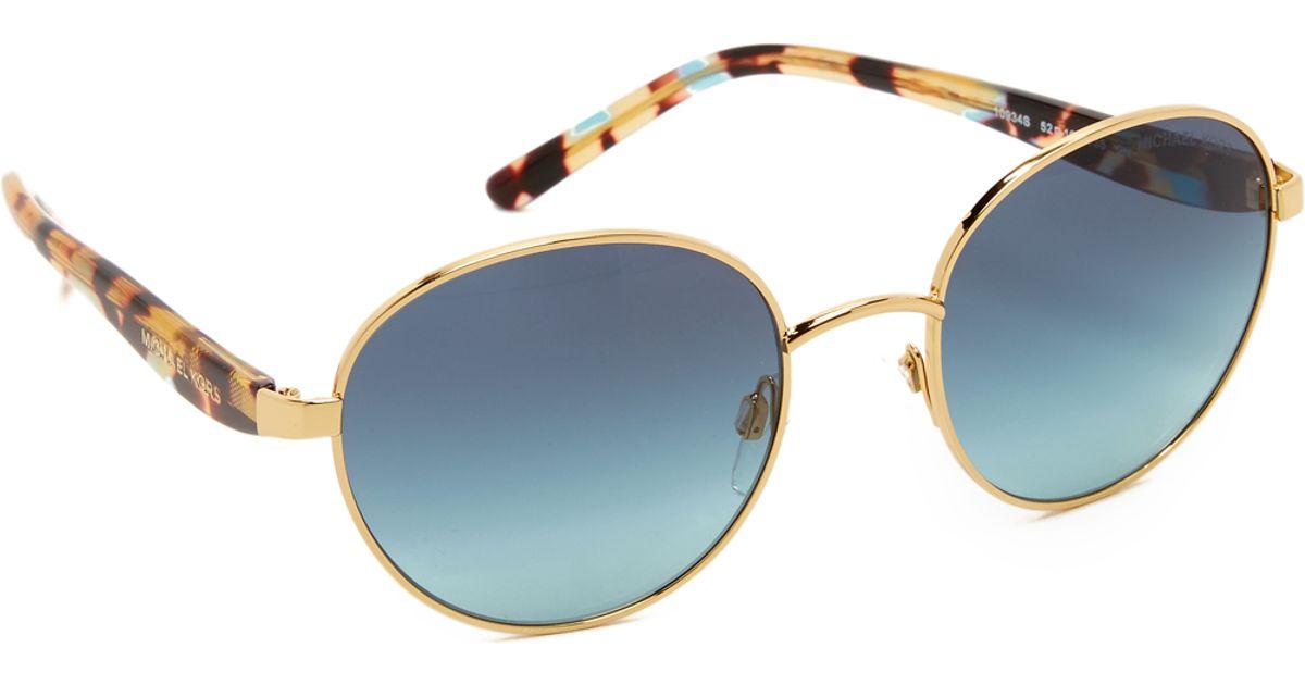 9f5ec18d94c Michael Kors Sadie Iii Sunglasses - Lyst