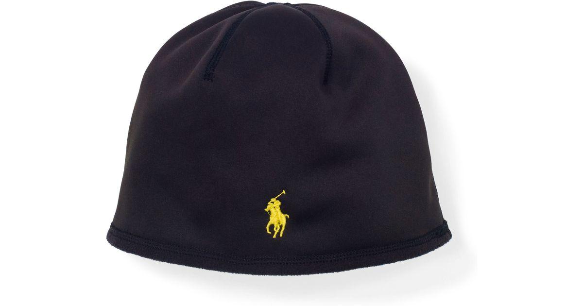 Polo Ralph Lauren Fleece Skull Cap in Black for Men - Lyst 4498339019f