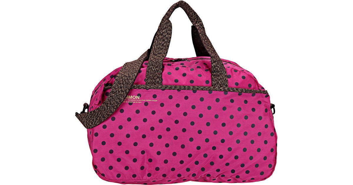 bensimon sports bag in pink lyst - Bensimon Color Bag