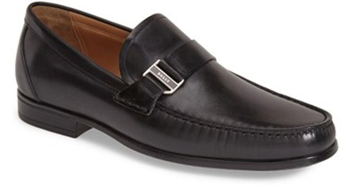 4b0f0fb4d Bally 'tedor' Loafer in Black for Men - Lyst