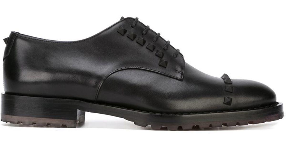 Valentino Garavani Derby shoes - Black Valentino wCdTSaVF