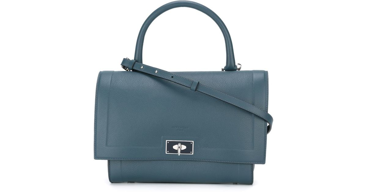 2064112275c1 Lyst - Givenchy Small  shark  Tote in Blue