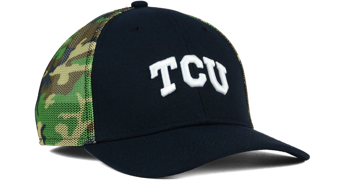 678be98e03716 ... ireland lyst nike tcu horned frogs camo hook swooshflex cap in green  for men cc879 84df6
