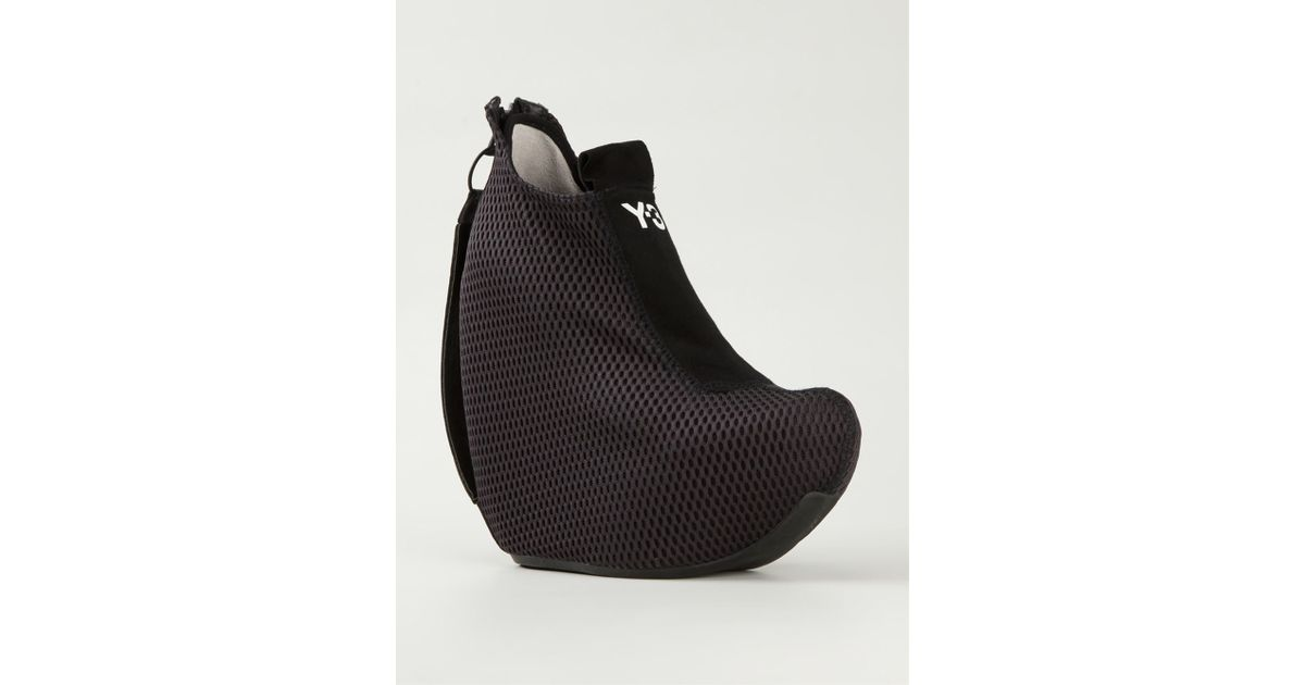 christian louboutin cost - Y-3 Dive Mesh Wedges in Black | Lyst