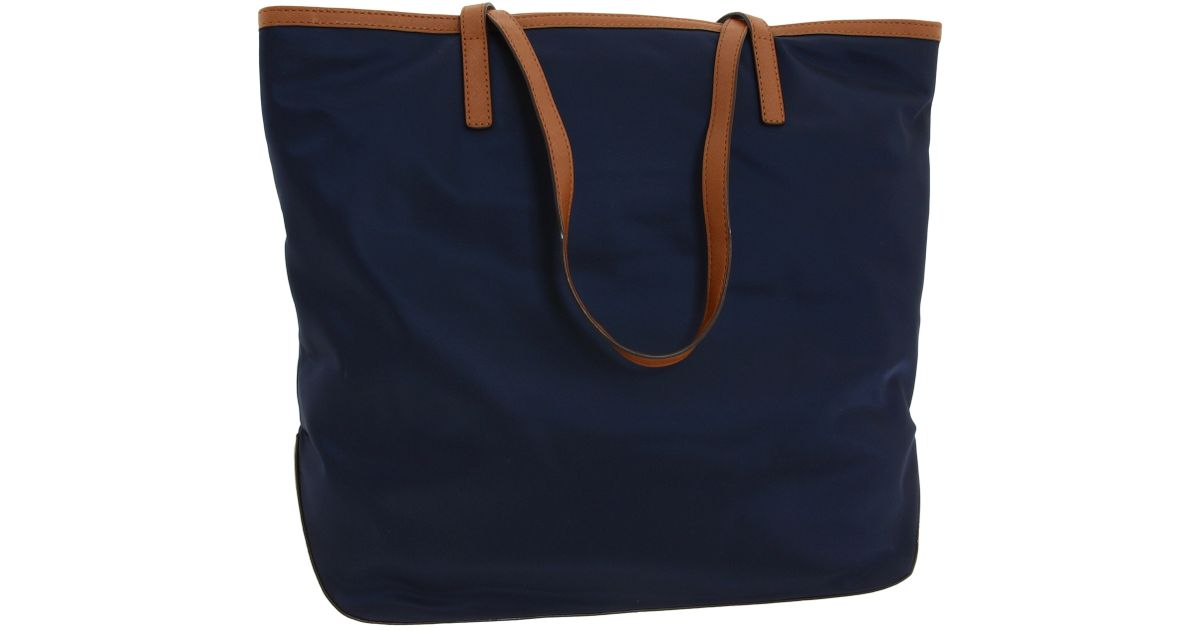 aff8c8c9d753 MICHAEL Michael Kors Kempton Large North/South Tote in Blue - Lyst