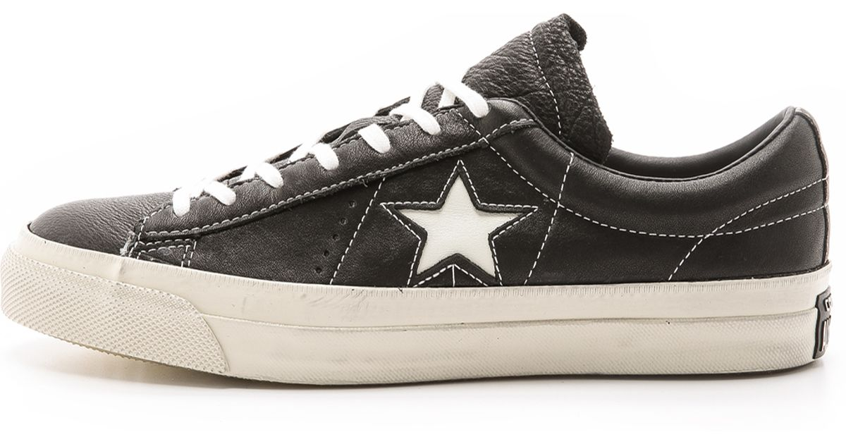 3c118701e83c Lyst - Converse John Varvatos One Star Sneakers in Black for Men