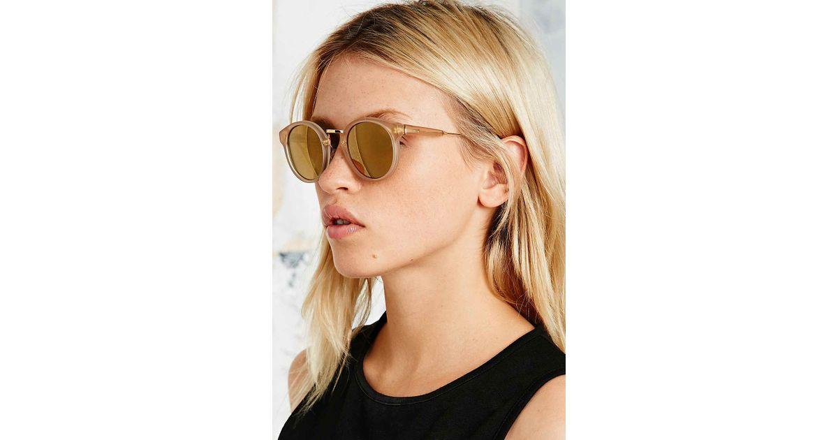 eb6b9e873d1a Retrosuperfuture Panama Oracle Sunglasses in Brown - Lyst