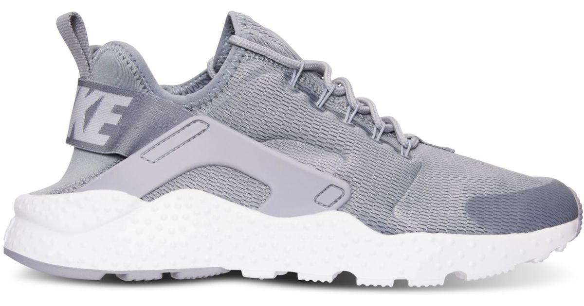 001ba655513d Lyst - Nike Women s Air Huarache Run Ultra Running Sneakers From Finish  Line in Gray