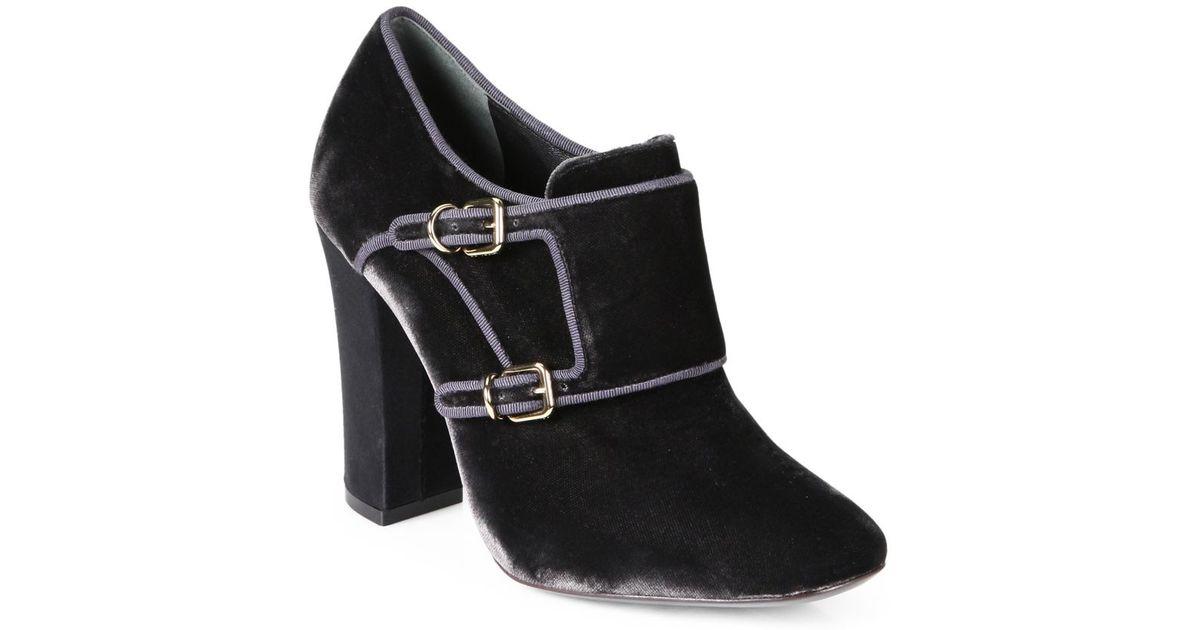 Tory Burch Velvet ankle boots VVPoY4gJ1d
