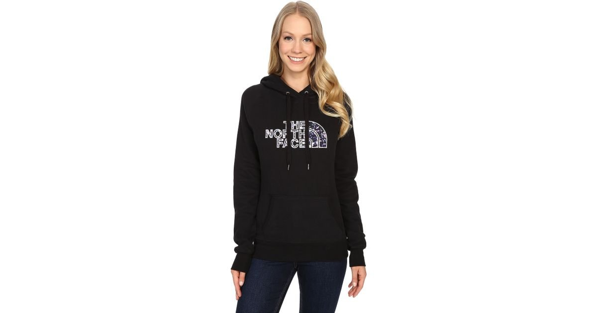 52db093e13f The North Face Avalon Crystal Floral Pullover Hoodie in Black - Lyst