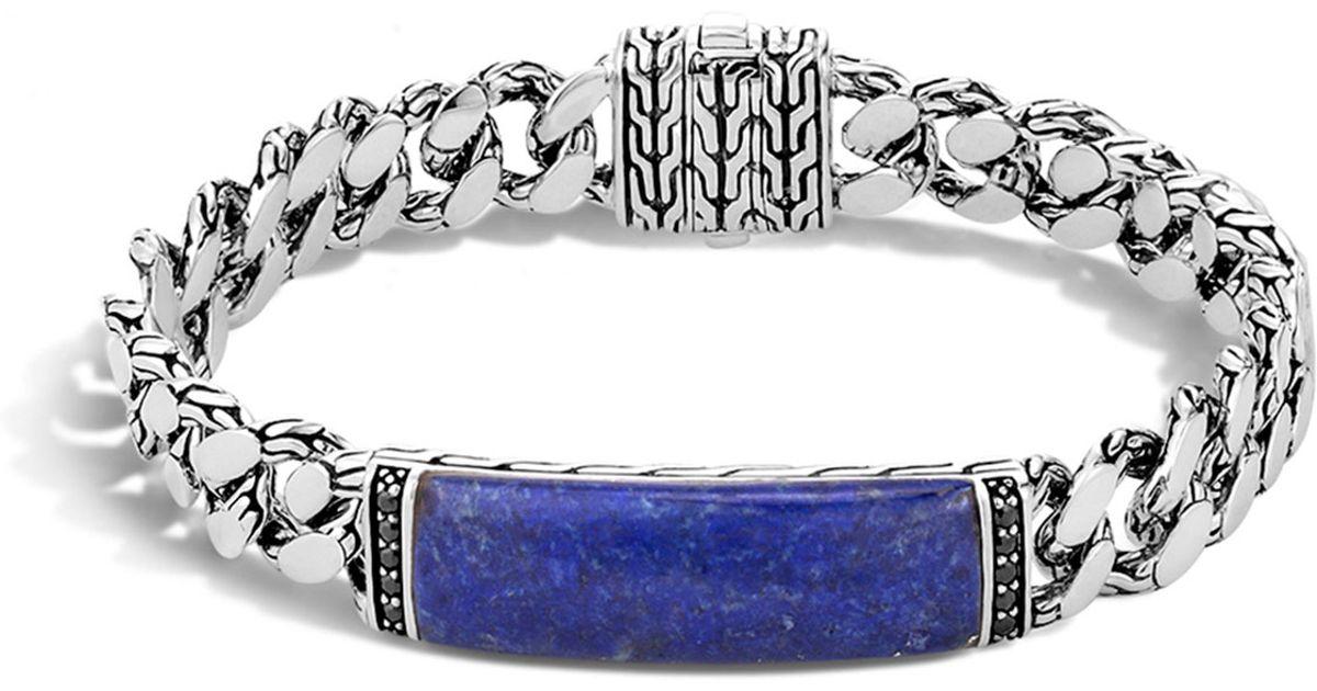 John Hardy Gourmette Classic Chain Men S Bracelet With
