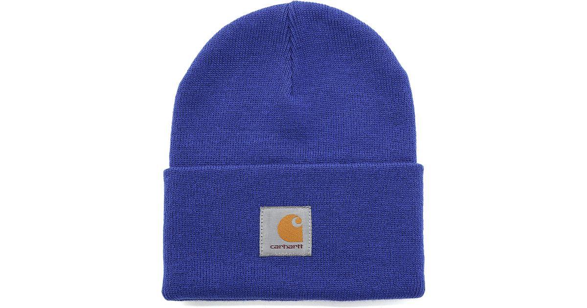 4e4522e8d65 Lyst - Carhartt WIP Acrylic Watch Hat in Blue for Men