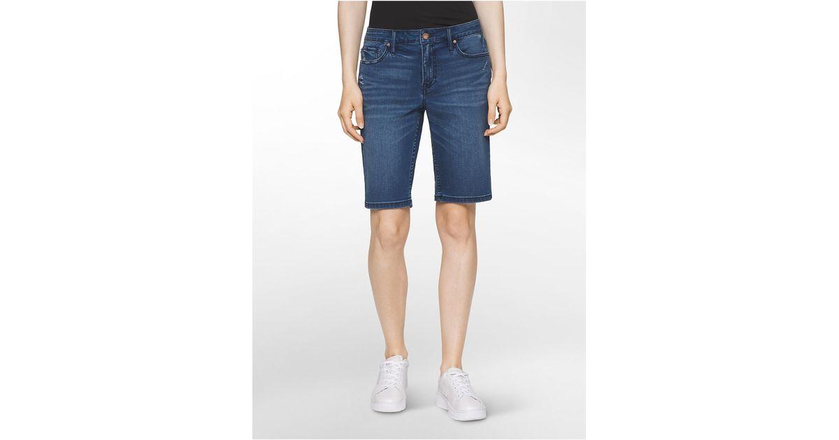 a8e142bd01b6 Lyst - Calvin Klein Jeans Medium Wash City Shorts in Blue for Men