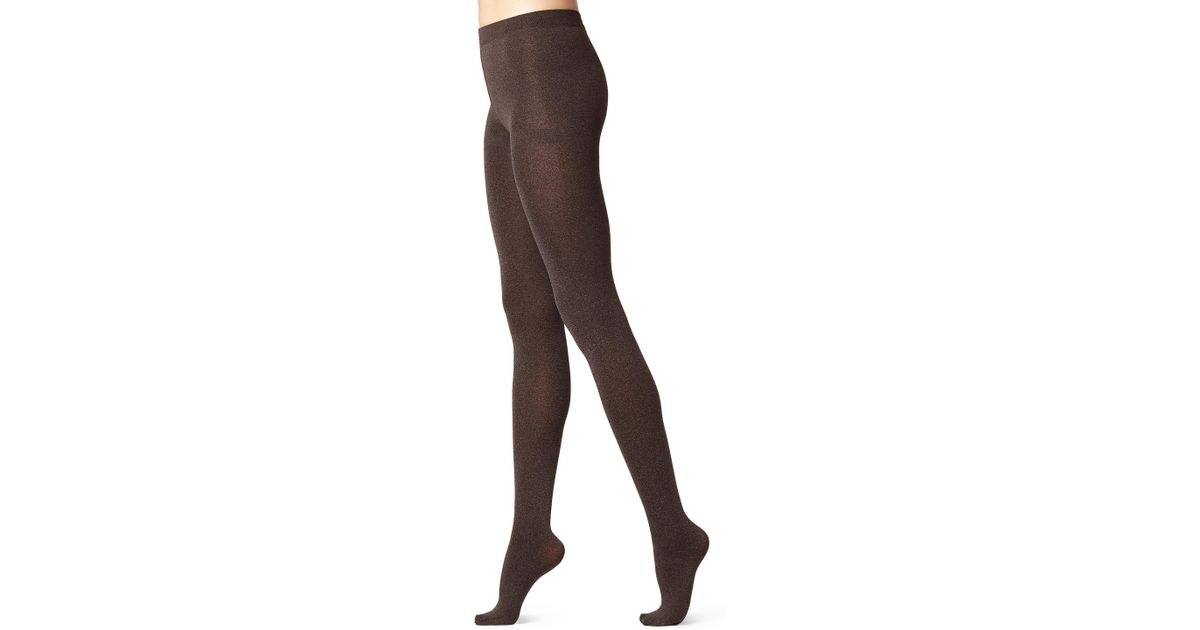 1ec224ee16d Lyst - Calzedonia Thermal Super Opaque Tights in Brown