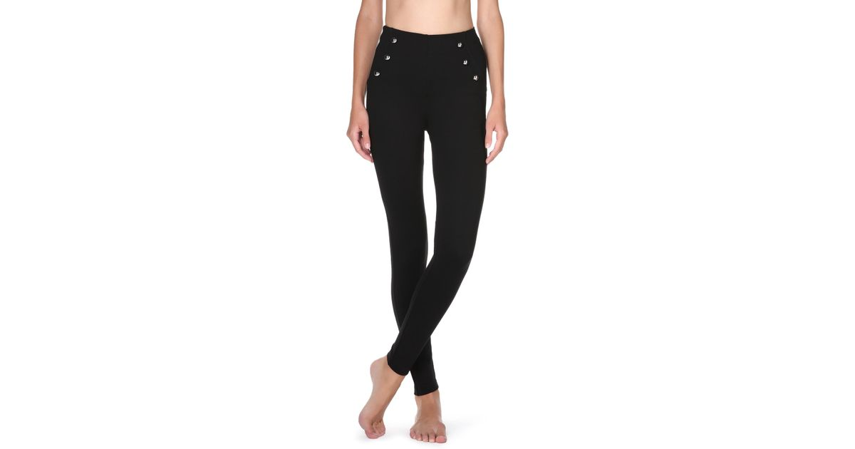 c7eb9915e587b Calzedonia Sailor Shaping leggings in Black - Lyst