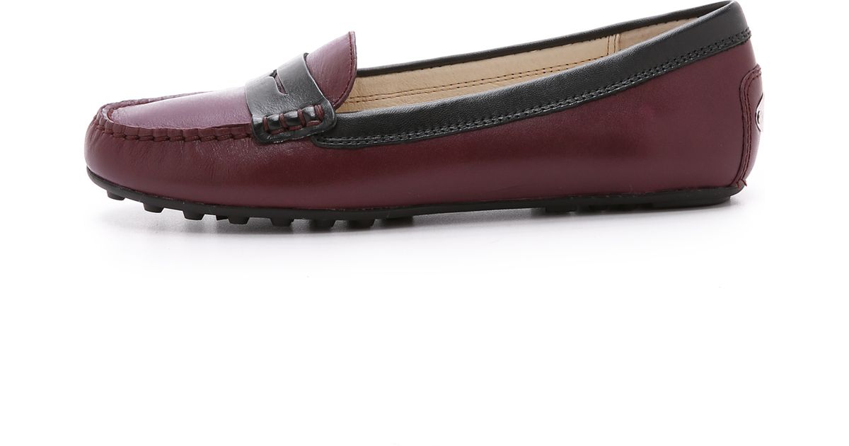8afc551a040 Lyst - MICHAEL Michael Kors Daisy Loafers - Merlot in Purple