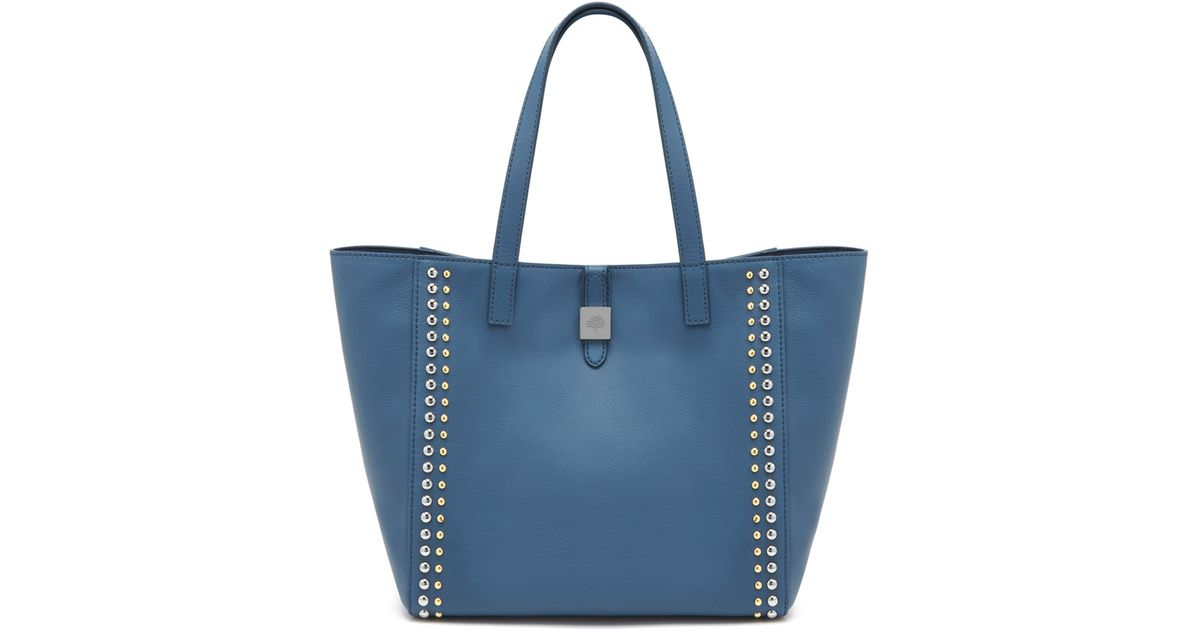 5c35d9451740 Lyst - Mulberry Tessie Tote in Blue