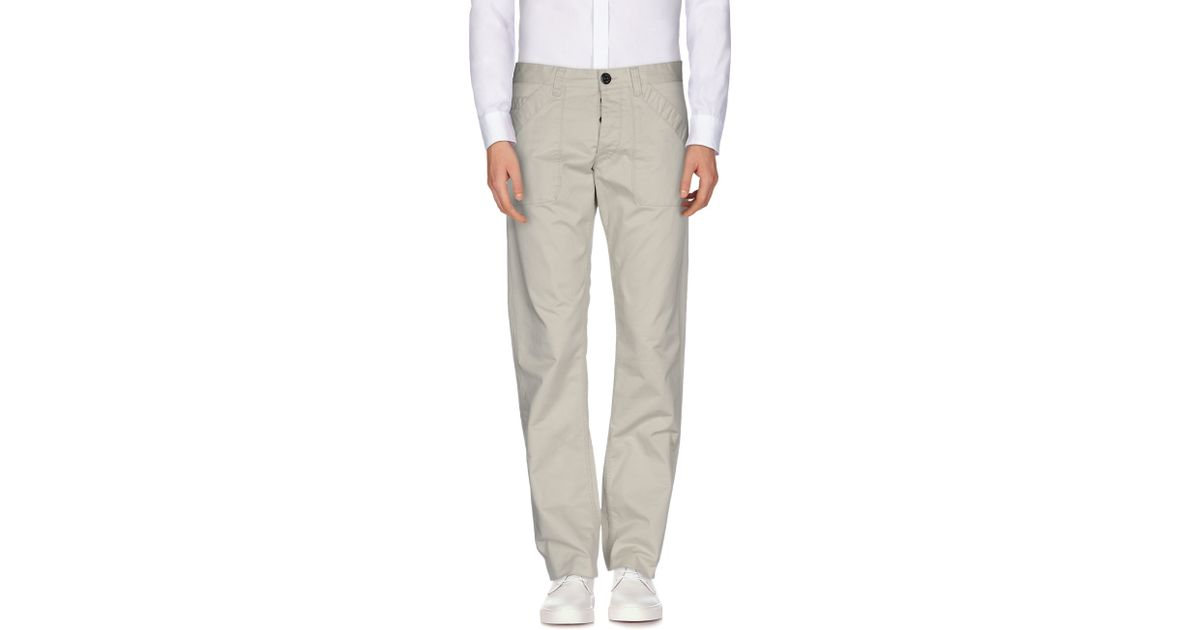 murphy nye casual trouser in gray for men light grey lyst. Black Bedroom Furniture Sets. Home Design Ideas