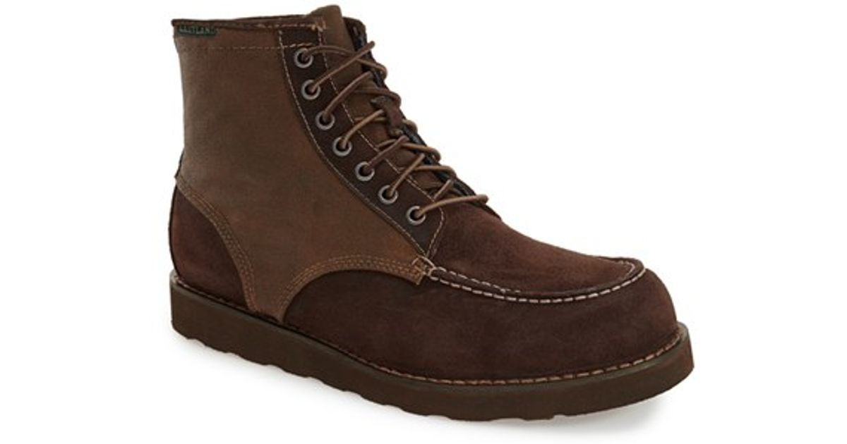 Eastland Shoes Black Lumber Up